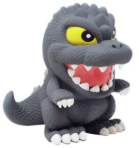 Godzilla Figural PVC Coin Bank