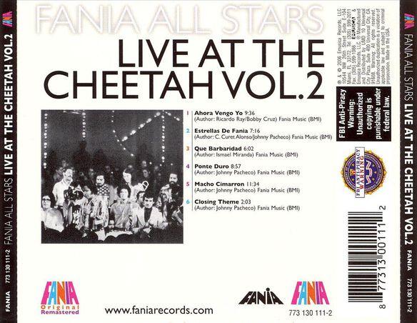 Live At The Cheetah V2