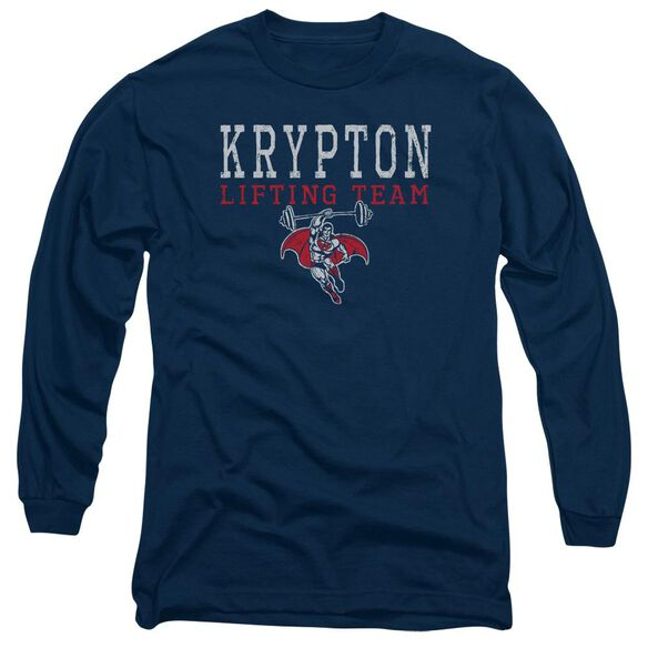 Dco Krpton Lifting Long Sleeve Adult T-Shirt