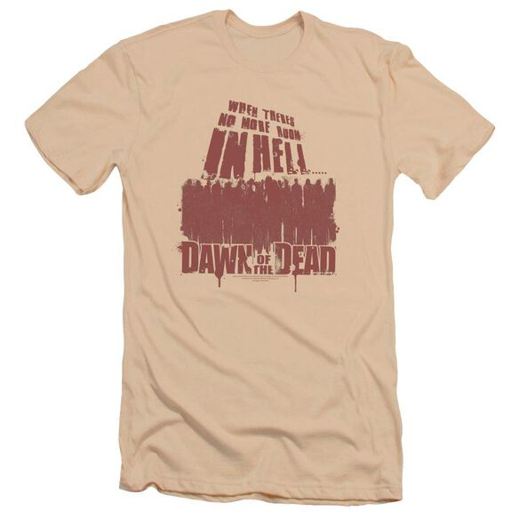 Dawn Of The Dead No More Room Premuim Canvas Adult Slim Fit