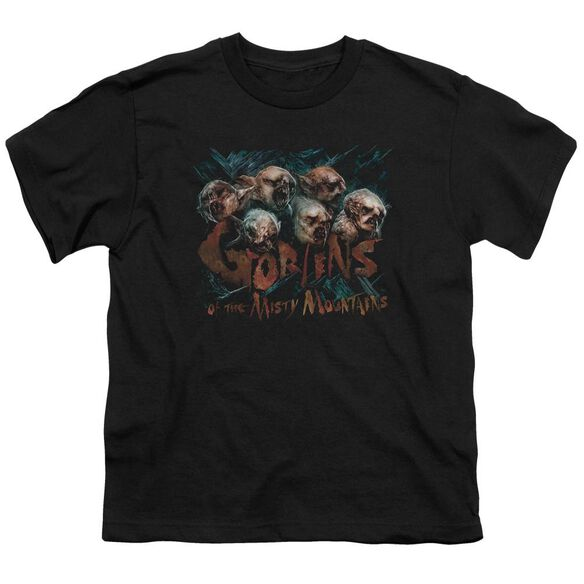 The Hobbit Misty Goblins Short Sleeve Youth T-Shirt