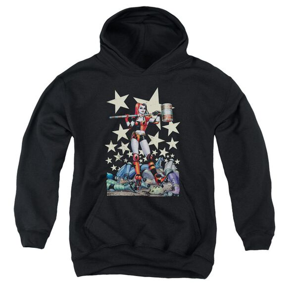 Batman Hammer Time Youth Pull Over Hoodie