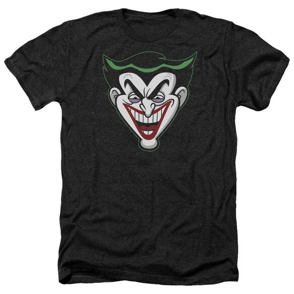 Batman Bb Animated Joker Head Adult Heather