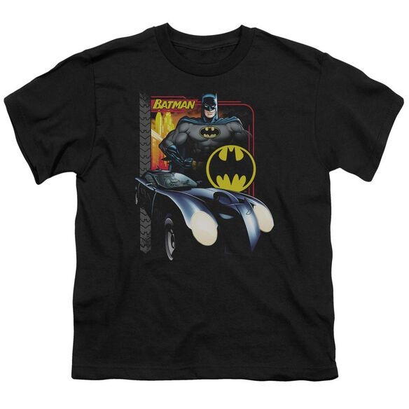Batman Bat Racing Short Sleeve Youth T-Shirt