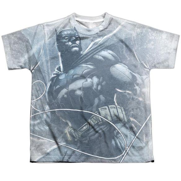 Batman Protector Short Sleeve Youth Poly Crew T-Shirt