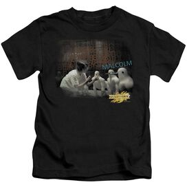 Mirrormask Bob Malcolm Short Sleeve Juvenile Black T-Shirt