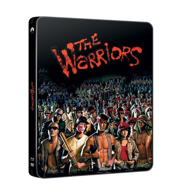 The Warriors [Exclusive 40th Anniversary Limited Edition Steelbook]