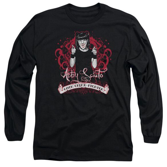 Ncis Goth Crime Fighter Long Sleeve Adult T-Shirt