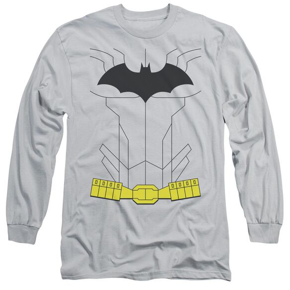 Batman New Batman Costume Long Sleeve Adult T-Shirt