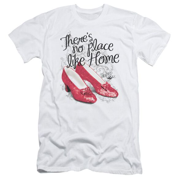 Wizard Of Oz Ruby Slippers Short Sleeve Adult T-Shirt