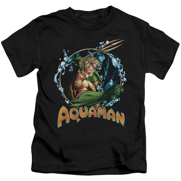 Jla Ruler Of The Seas Short Sleeve Juvenile T-Shirt