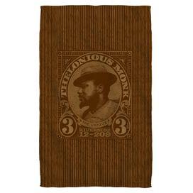 Thelonious Monk Unique Face Hand Towel