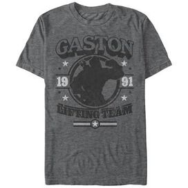 Beauty and the Beast Gaston Gym T-Shirt