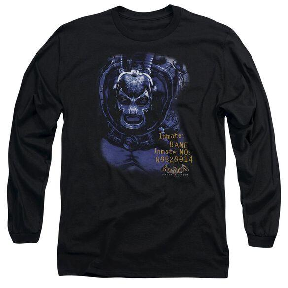 Batman Aa Arkham Bane Long Sleeve Adult T-Shirt