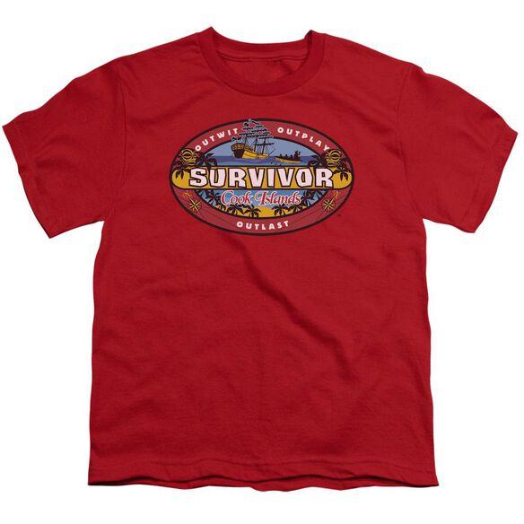 Survivor Cook Islands Short Sleeve Youth T-Shirt