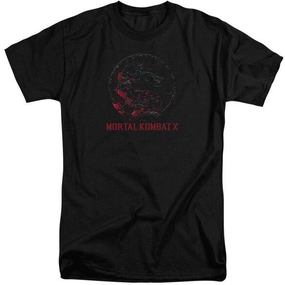 Mortal Kombat Bloody Seal Short Sleeve Adult Tall T-Shirt
