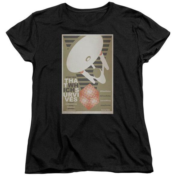 Star Trek Tos Episode 72 Short Sleeve Womens Tee T-Shirt