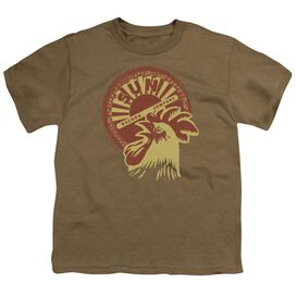 Sun Good Morning Short Sleeve Youth Safari T-Shirt