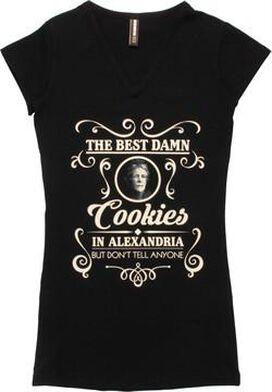 Walking Dead Best Damn Cookies Juniors Tunic Shirt