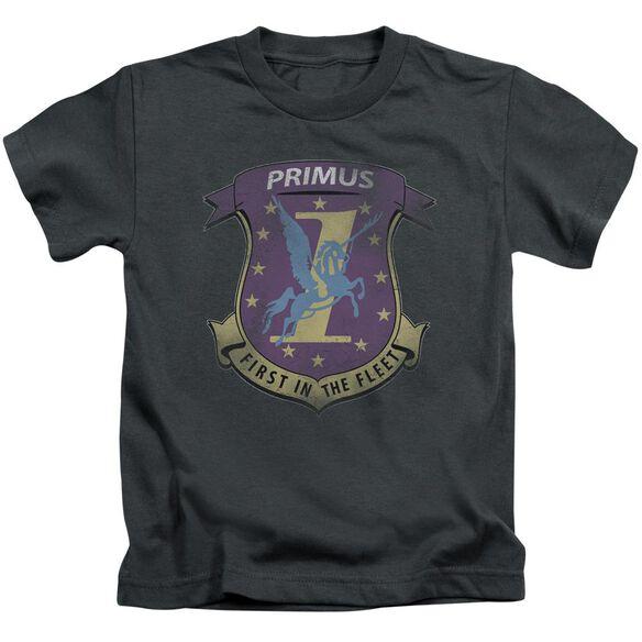 Bsg Primas Badge Short Sleeve Juvenile Charcoal T-Shirt