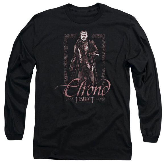 The Hobbit Elrond Stare Long Sleeve Adult T-Shirt