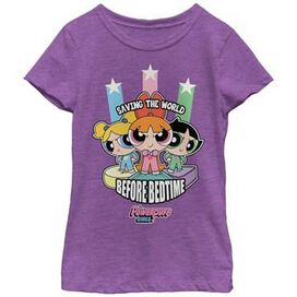 Powerpuff Girls Saving World Youth Girls Shirt