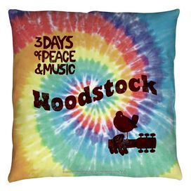 Woodstock Tie Dye Throw