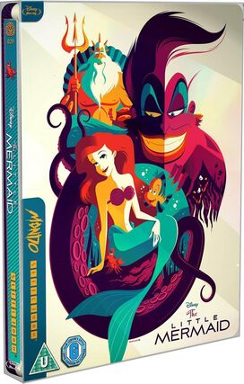The Little Mermaid [Limited Edition Blu-ray Mondo Steelbook]