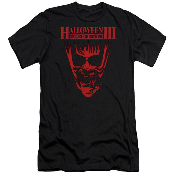 Halloween Iii Title Premuim Canvas Adult Slim Fit
