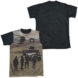 Army Values Short Sleeve Adult Front Black Back T-Shirt