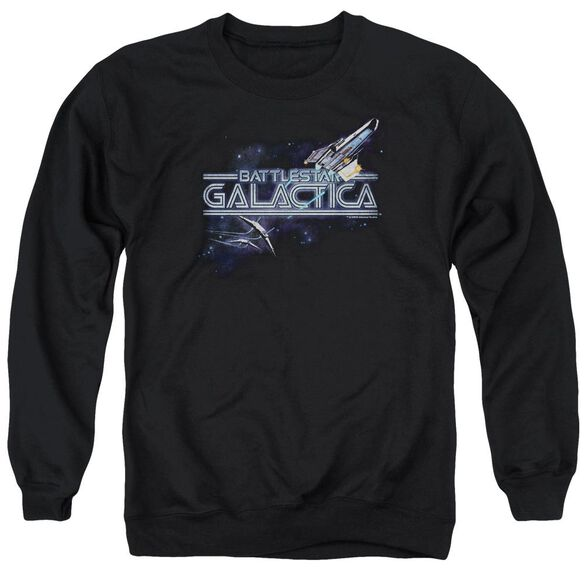 Bsg Cylon Persuit Adult Crewneck Sweatshirt