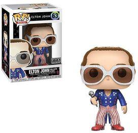 Funko Pop! Rocks: Elton John: Red, White & Blue with Glitter