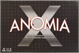 Anomia X - Card Game [Age 17+]