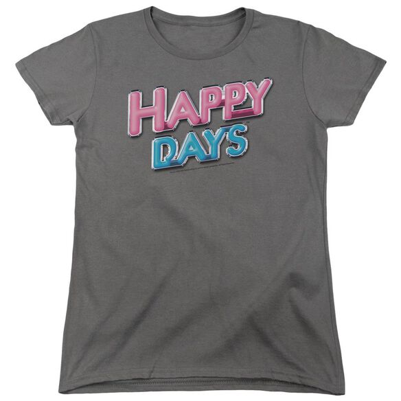 Happy Days Happy Days Logo Short Sleeve Women's Tee T-Shirt