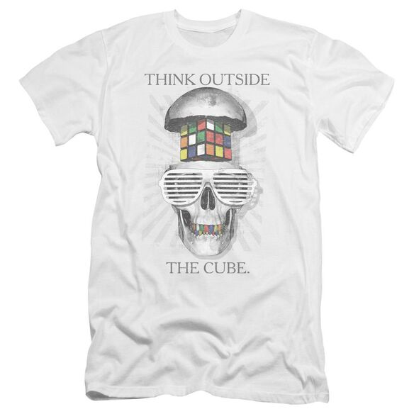 Rubik's Cube Outside The Cube Premuim Canvas Adult Slim Fit