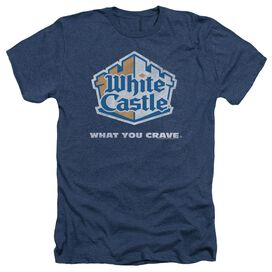 White Castle Distressed Logo Adult Heather