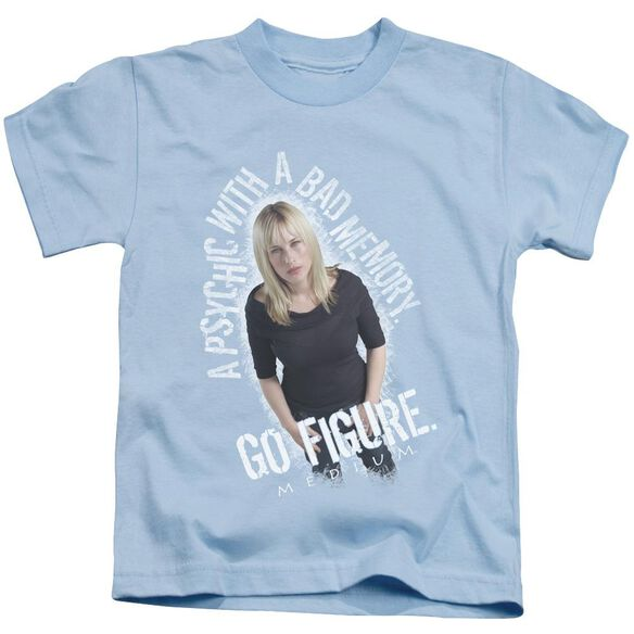 Medium Go Figure Short Sleeve Juvenile Light Blue Md T-Shirt