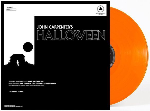 John Carpenter - Halloween [12 Inch Single][Exclusive Orange Vinyl]