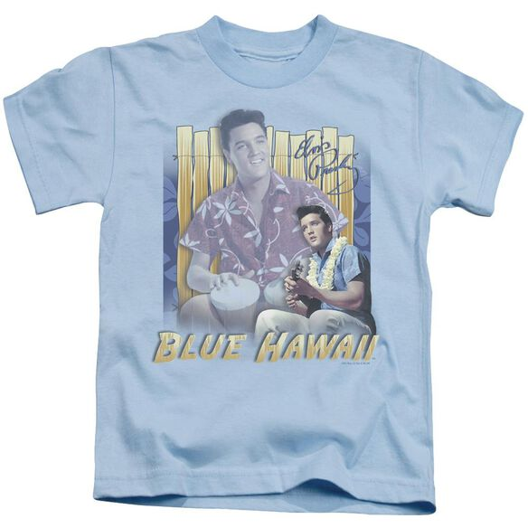 Elvis Blue Hawaii Short Sleeve Juvenile Carolina Blue T-Shirt