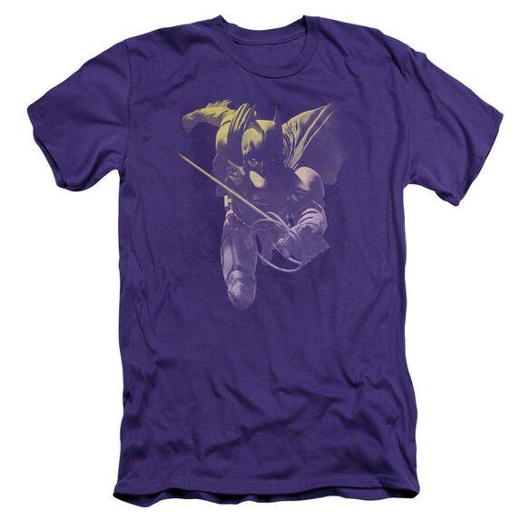 Dark Knight Rises Rope Swing Short Sleeve Adult T-Shirt