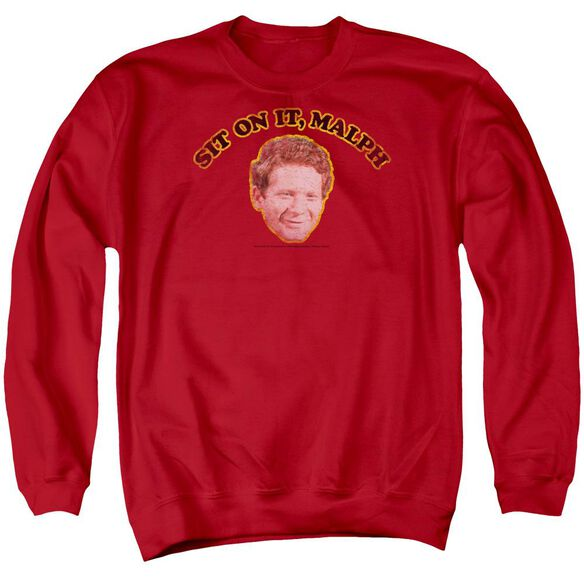 Happy Days Sit On It Malph Adult Crewneck Sweatshirt