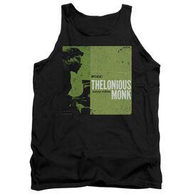 Thelonious Monk Work - Adult Tank - Black