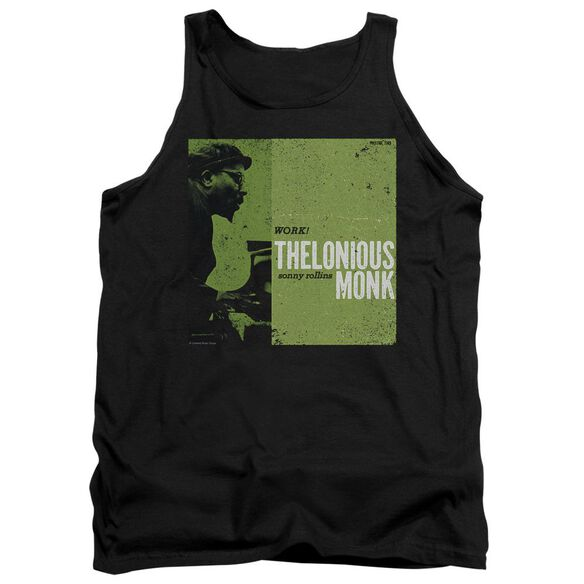 Thelonious Monk Work Adult Tank