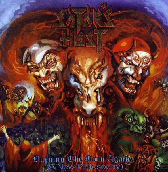 Satan's Host - Burning the Born Again