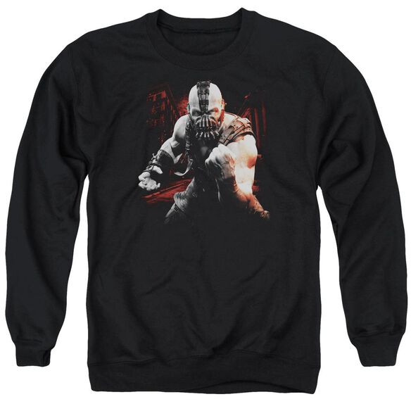 Dark Knight Rises Bane Battleground Adult Crewneck Sweatshirt