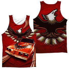 Pontiac Firebird Flames (Front Back Print) Adult Poly Tank Top