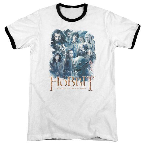Hobbit Main Characters Adult Ringer White Black