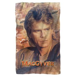Macgyver Tools Of The Trade Fleece Blanket