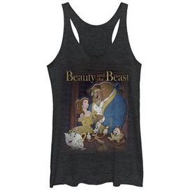 Beauty and the Beast Poster Tank Juniors T-Shirt