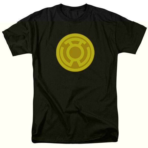 Green Lantern Yellow Symbol Short Sleeve Adult T-Shirt